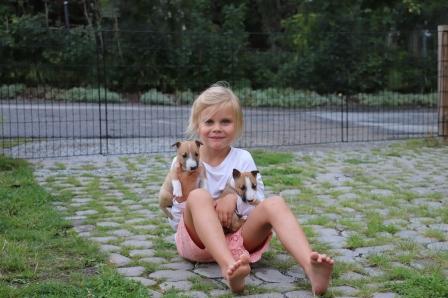 Olivia och valparna